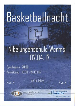 Basketballnacht Jugendparlament Worms